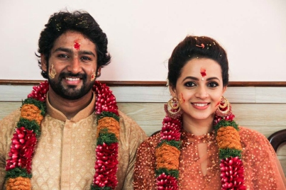actress-bhavana-wedding-with-naveen-ePathram