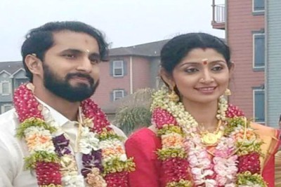 actress-divya-unni-married-arun-kumar-ePathram.