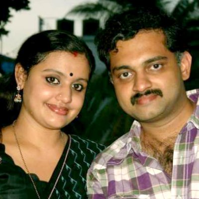 music-director-biji-pal-with-wife-santhi-ePathram