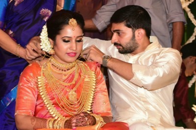 sreejith-vijay-married-archana-gopinathan-ePathram