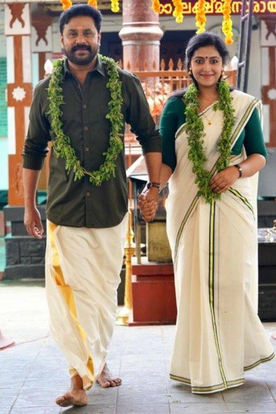 viral-photo-of-shubharathri-movie-dileep-anu-sithara-ePathram