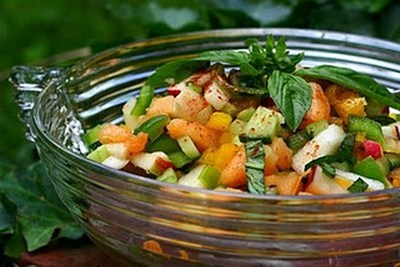 Mixed Fruit & Vegetable Salad-epathram
