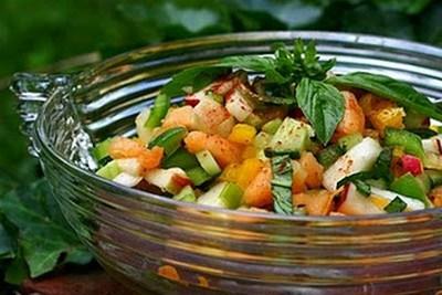 Mixed Fruit & Vegetable Salad-epathram