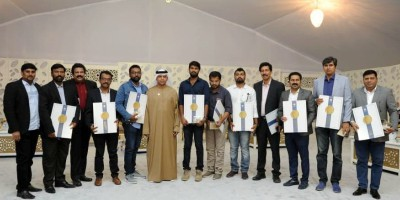 abu-dhabi-police-honoured-indian-media-ePathram