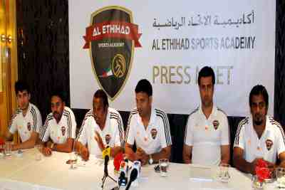abudhabi-al-ethihad-sports-academy-press-meet-ePathram