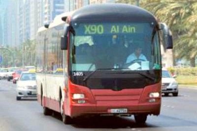 abudhabi-alain-bus-rout-X-90-ePathram