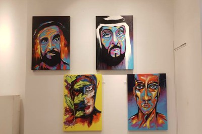 abudhabi-art-hub-exhibition-david-ebenezer-ePathram