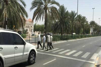 abudhabi-police-booked-jaywalkers-in 2017-ePathram