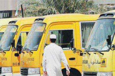 abudhabi-school-bus-ePathram