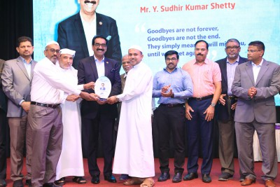 abudhabi-sunni-centre-farewell-part-to-sudhir-shetty-ePathram