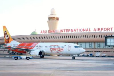 air-india-express-in-abudhbai-air-port-ePathram