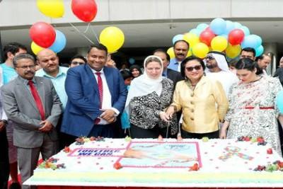aravind-ravi-palode-world-autism-day-mushrif-mall-ePathram