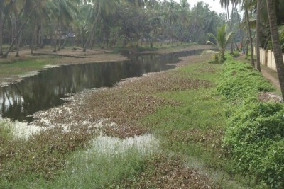 blangad-river-nammude-mathikkaayal-cleaning-ePathram