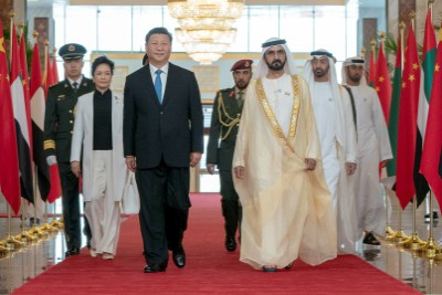 chinese-president-xi-jin-ping-arrives-uae-ePathram