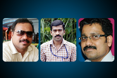chiranthana-media-awards-2013-sadik-kavil-saneesh-leo-ePathram