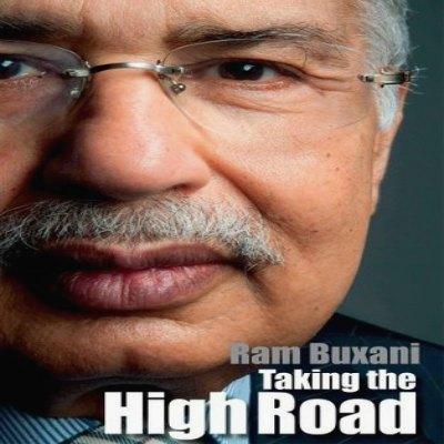 cover-page-ram-buxani-taking-the-high-road-ePathram
