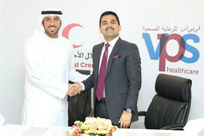 dr-shamsheer-vayalil-vps-health-care-donate-emirates-red-crescent-ePathram