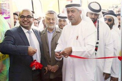 dr-sheikh-sultan-bin-khalifa-inaugurate-universal-hospital-2nd-anniversary-ePathram