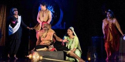 dram-randanthyaramgangal-in-ksc-drama-fest-ePathram