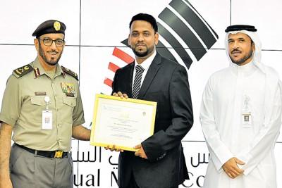 dubai-immigration-media-award-azeez-manammal-edarikkod-ePathram