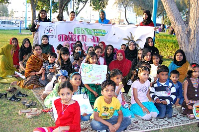 enora-meet-children-and-ladies-ePathram