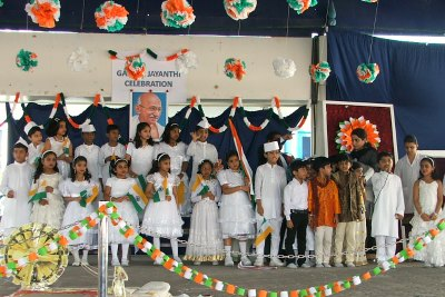 gandhi-jayanti-celebrations-in-model-school-ePathram