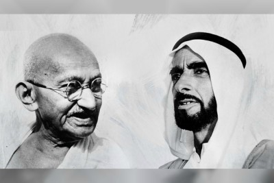 gandhi-sheikh-zayed-digital-museum-ePathram