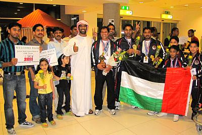 gold-medal-to-uae-team-in-karate-epathram
