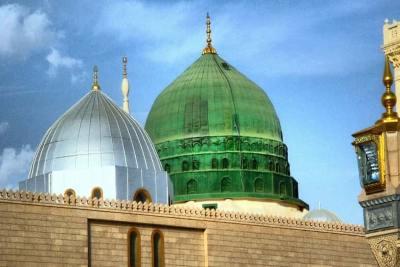 green-dome-masjid-ul-nabawi-ePathram