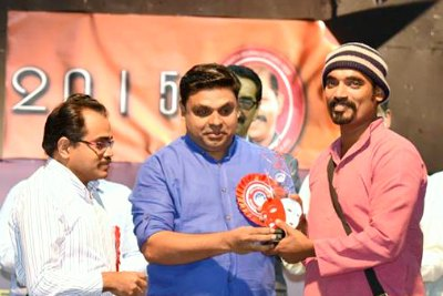 hari-sethu-second-best-actor-of-ksc-drama-fest-2015-ePathram