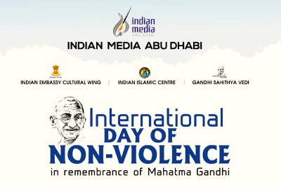 international-day-of-non-violence-gandhi-jayanthi-ePathram