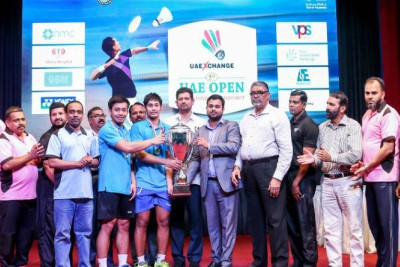 islamic-center-fifth-uae-exchange-badminton-tournament-2019-winners-ePathram
