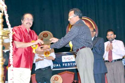 kala-award-to-actor-janardhanan-ePathram
