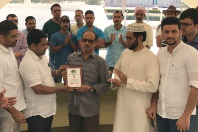 kannur-kmcc-sent-off-to-pc-razack-haji-ePathram