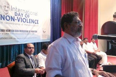 karthikeyan-speaker-of-kerala-in-abudhabi-ePathram