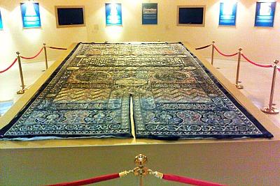 kiswa-from-kaaba-ePathram
