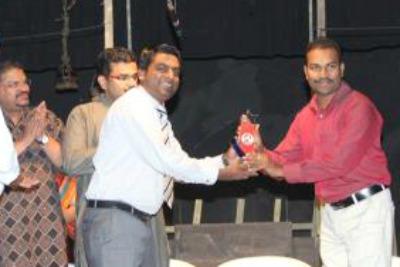 ksc-drama-writing-winner-shaji-suresh-chavakkad-ePathram
