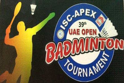 logo-isc-apex-39th-uae-open-badminton-ePathram