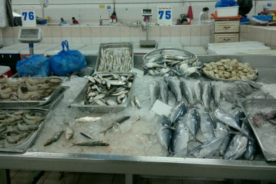 meena-fish-market-abudhabi-ePathram