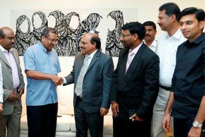 minister-ebrahim-kunju-with-tp-seetha-ram-ePathram