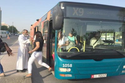 new-express-bus-service-x09-to-church-ePathram