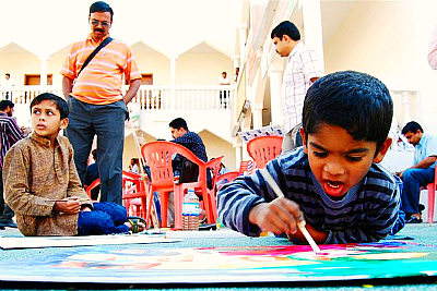 praskthi-artista-children-drawing-epathram
