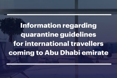 quarantine-guidelines-for-arrivals-to-abu-dhabi-ePathram