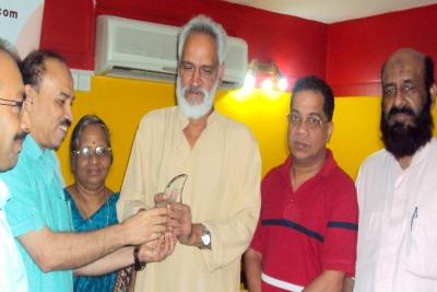 quilandi-nri-forum-welcome-mp-shreedharan-nair-ePathram