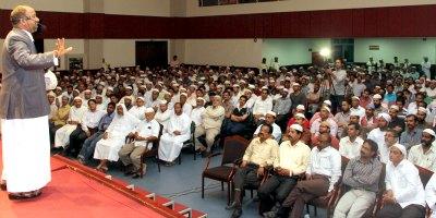 rahmathullah-kasimi-in-islamic-center-ePathram
