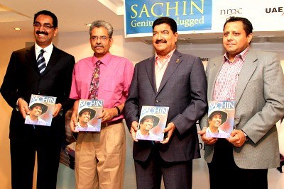 sachin-book-release-by-br-shetty-ePathram