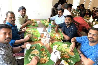 sameer-kallara-at-pravasi-onam-fest-2019-ePathram