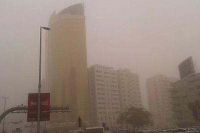 sand-storm-2014-in-abudhabi-ePathram