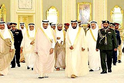 sheikh-khalifa-gcc-meet-ePathram