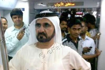 sheikh-mohammad-dubai-metro-epathram